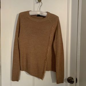 Camel color sweater size xs